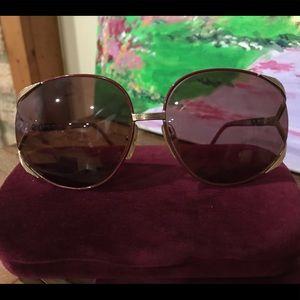 Christian Dior 2250 Oversized Retro Sunglasses